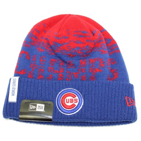Chicago Cubs New Era MLB 2016 World Series Champions Sport Knit Hat - Blue  Cuff - Walmart.com a0dc7a895ad