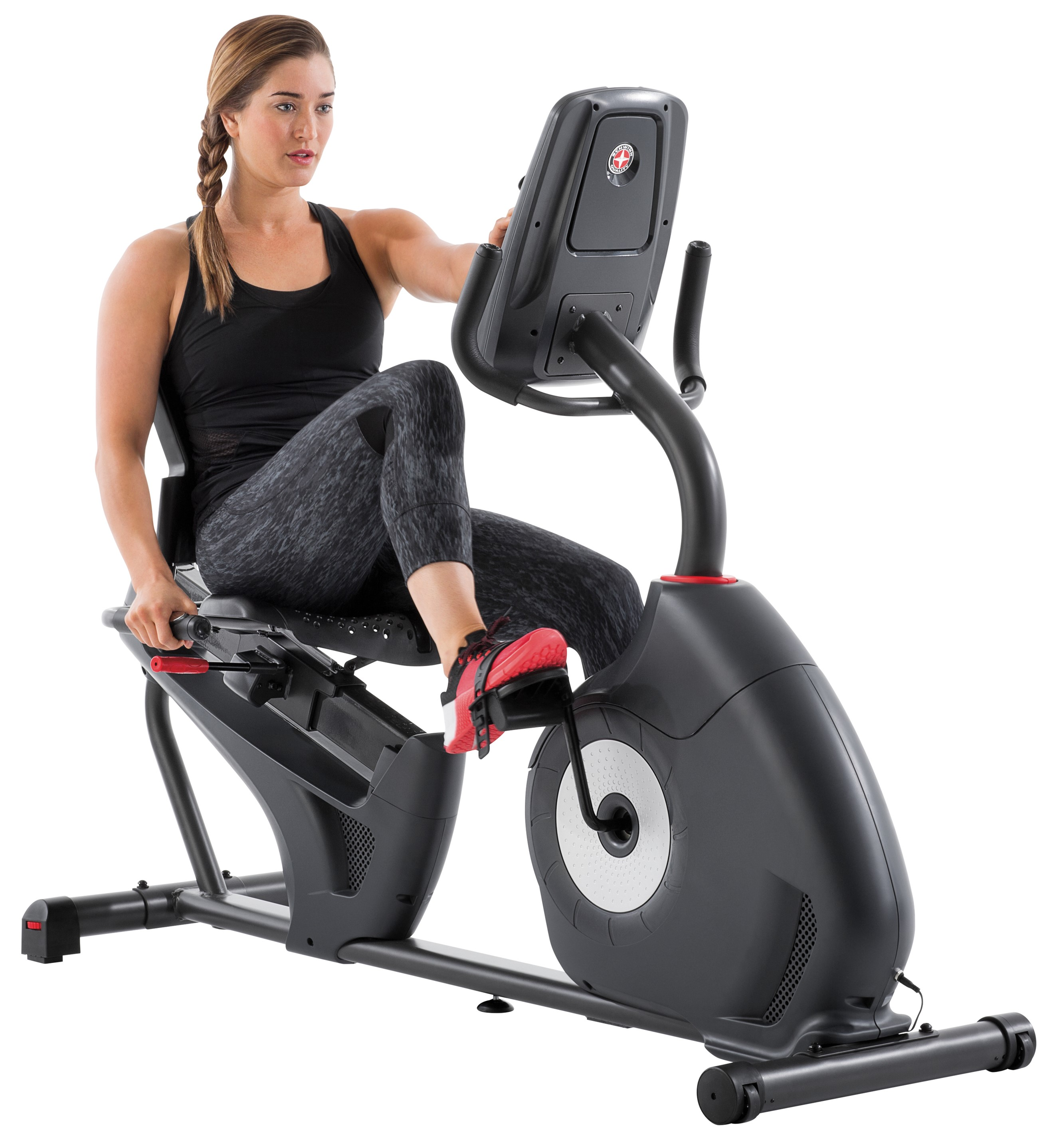 Schwinn 230 Heart Rate Enabled Recumbent Bike with Goal Tracking & 22 Workout Programs