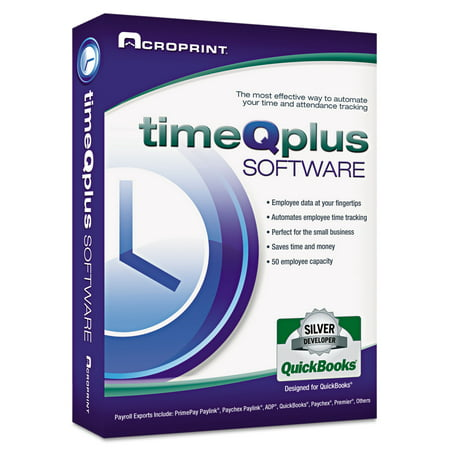 Acroprint timeQplus Network Software