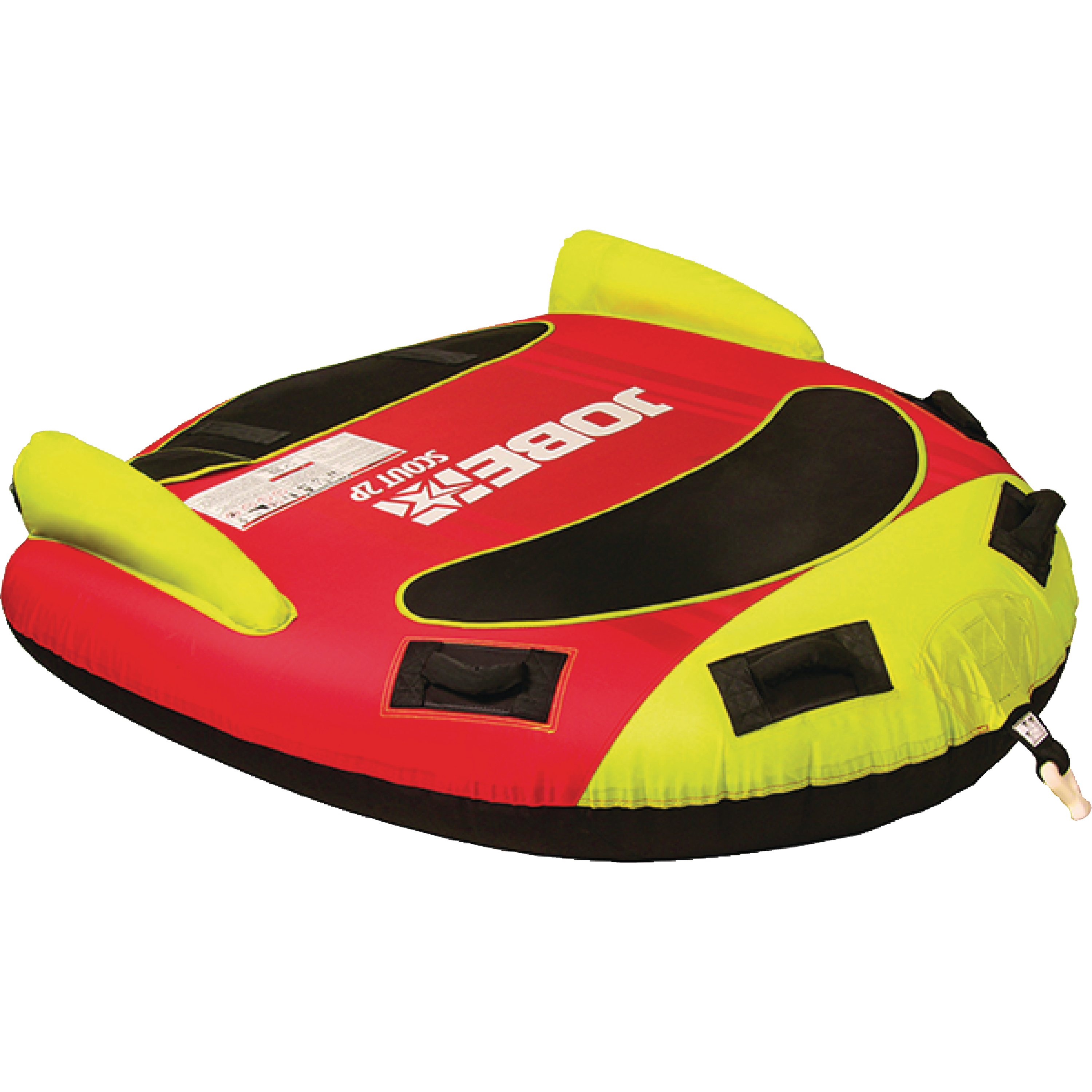 Jobe Scout Red Deck Tube Inflatable Towable