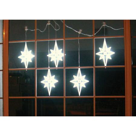 "HomeBrite 11"" LED Light Strand 5 Bethlehem Stars Christmas Holiday Decor Indoor"