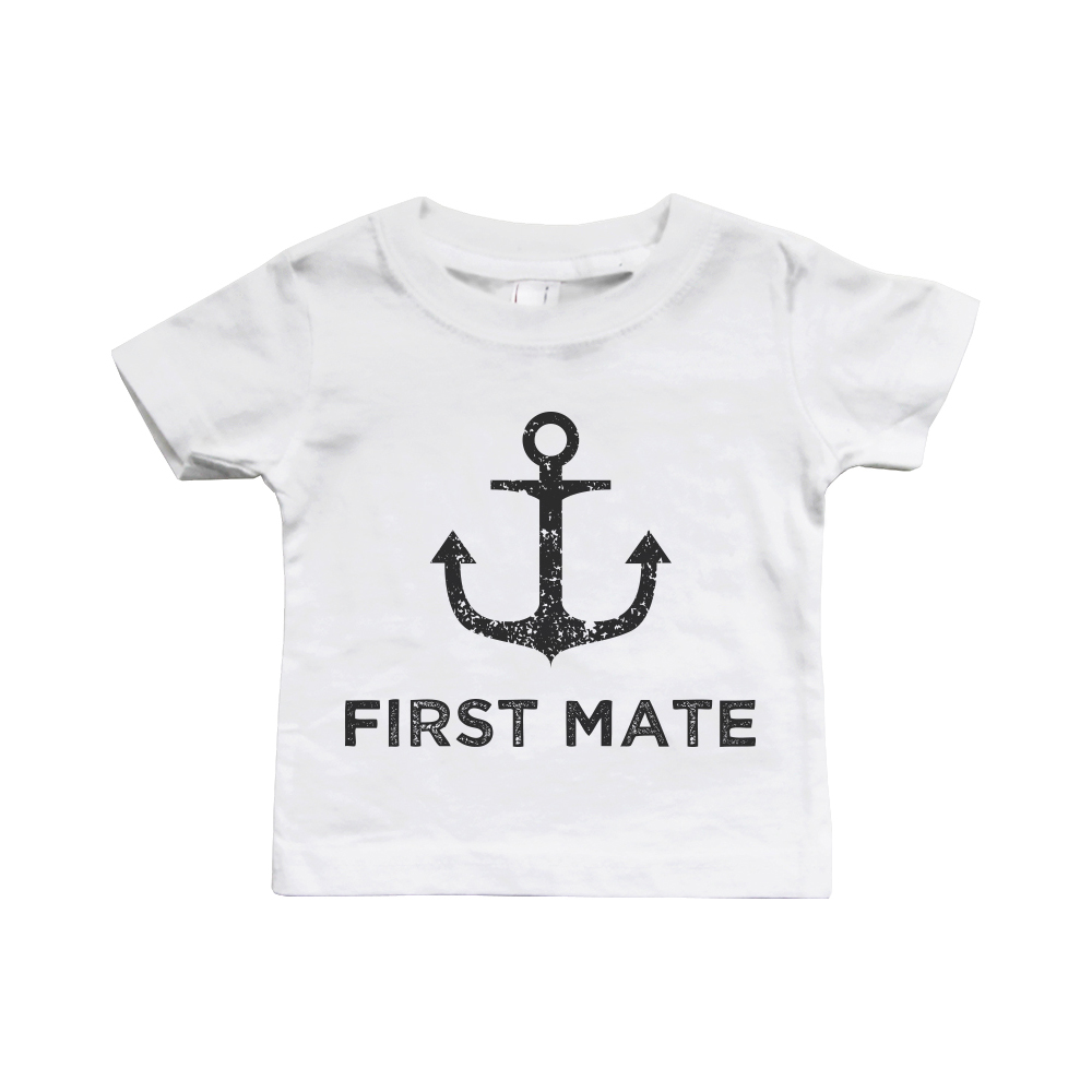 21827bb40 365 Printing inc - Captain And First Mate Matching Shirts Father And Son  Outfits Father's Day Gift - Walmart.com