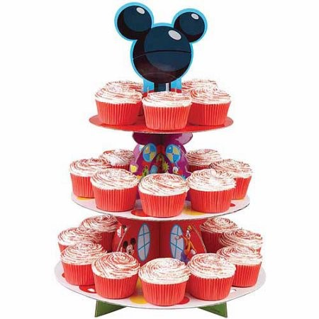 Wilton Disney Mickey Mouse Clubhouse Mickey Treat Stand, 1 Ct