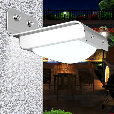 Gzyf 16 Leds Solar Powered Motion Sensor Garden Security Light Outdoor Patio Yard Driveway Waterproof Lamp