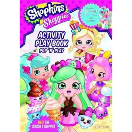 SHOPKINS SHOPPIES ACTIVITY PLAY BOOK