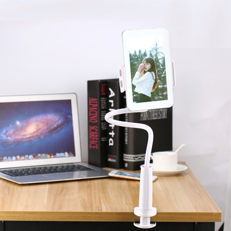 Lightweight Tablet Lazy 360 Degree Flexible Arm Table Holder Stand Desktop Table Tablet Support Mount For Ipad - image 6 de 7
