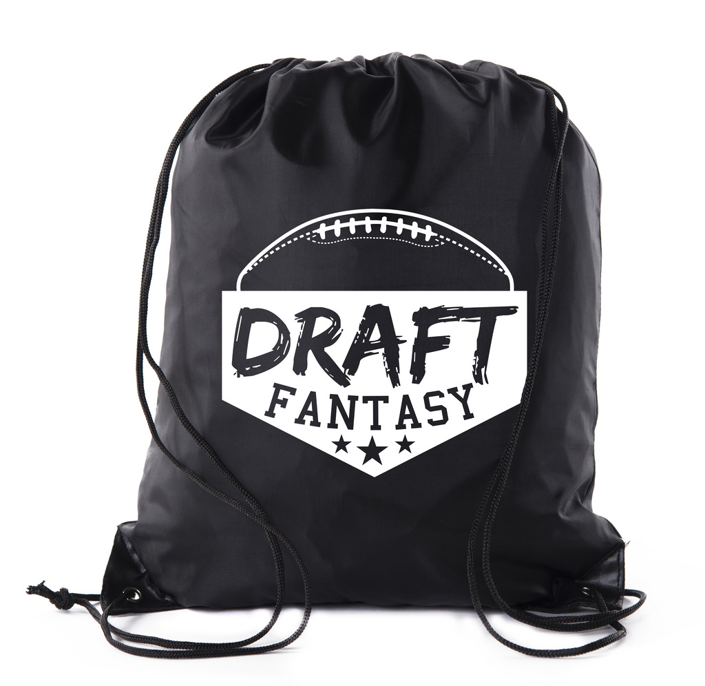 Fantasy Football Draft Bags| Drawstring Backpacks for Fantasy Football Parties, Fantasy football supplies