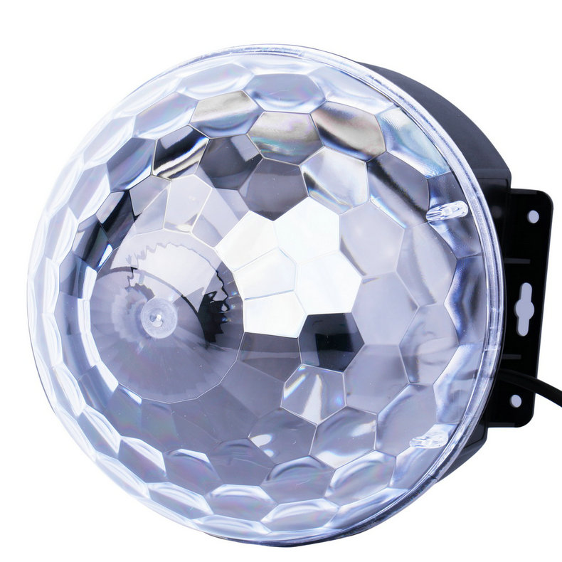 6 Colors LED Crystal Magic Ball Effect Light for Disco DJ Stage Party by