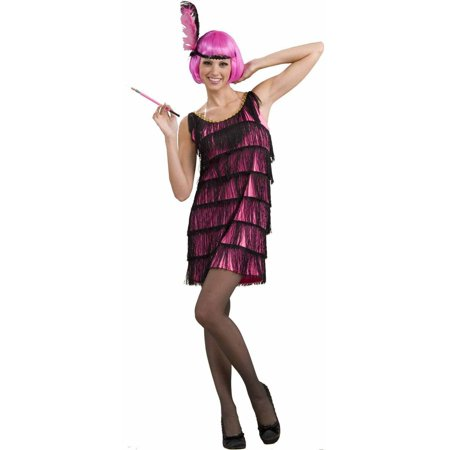 20's Pink Flapper Women's Adult Halloween Costume