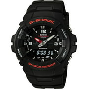 Casio Men's Analog-Digital Black and Yellow G-Shock Watch G100-9CM