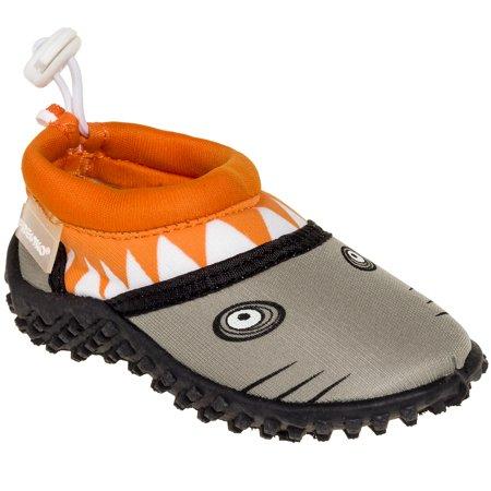 4f3e6c1dccbf Fresko - Fresko Kids Shark Slip-On Surf Swim Beach Water Shoes - Walmart.com