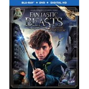 Fantastic Beasts And Where To Find Them (Blu-ray + DVD + Digital HD) by