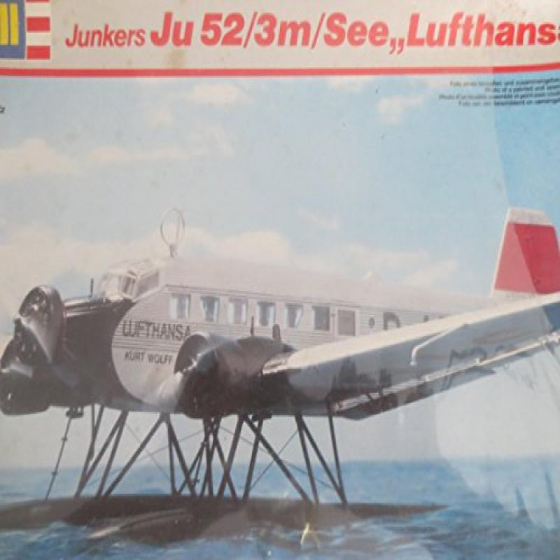 Revell Junkers Ju 52 3 m See Lufthansa 1 72 Model Airplane Kit by
