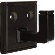 Stanley Hardware 804187 Oil Rubbed Bronze Ranch Design Small Single Hook