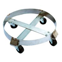 Drum Dolly,800 lb.,6-1 2 In H,30 gal. ZORO SELECT 6FVH5 by VALUE BRAND