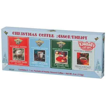 Christmas Decaf Coffee, Set of 4 ()