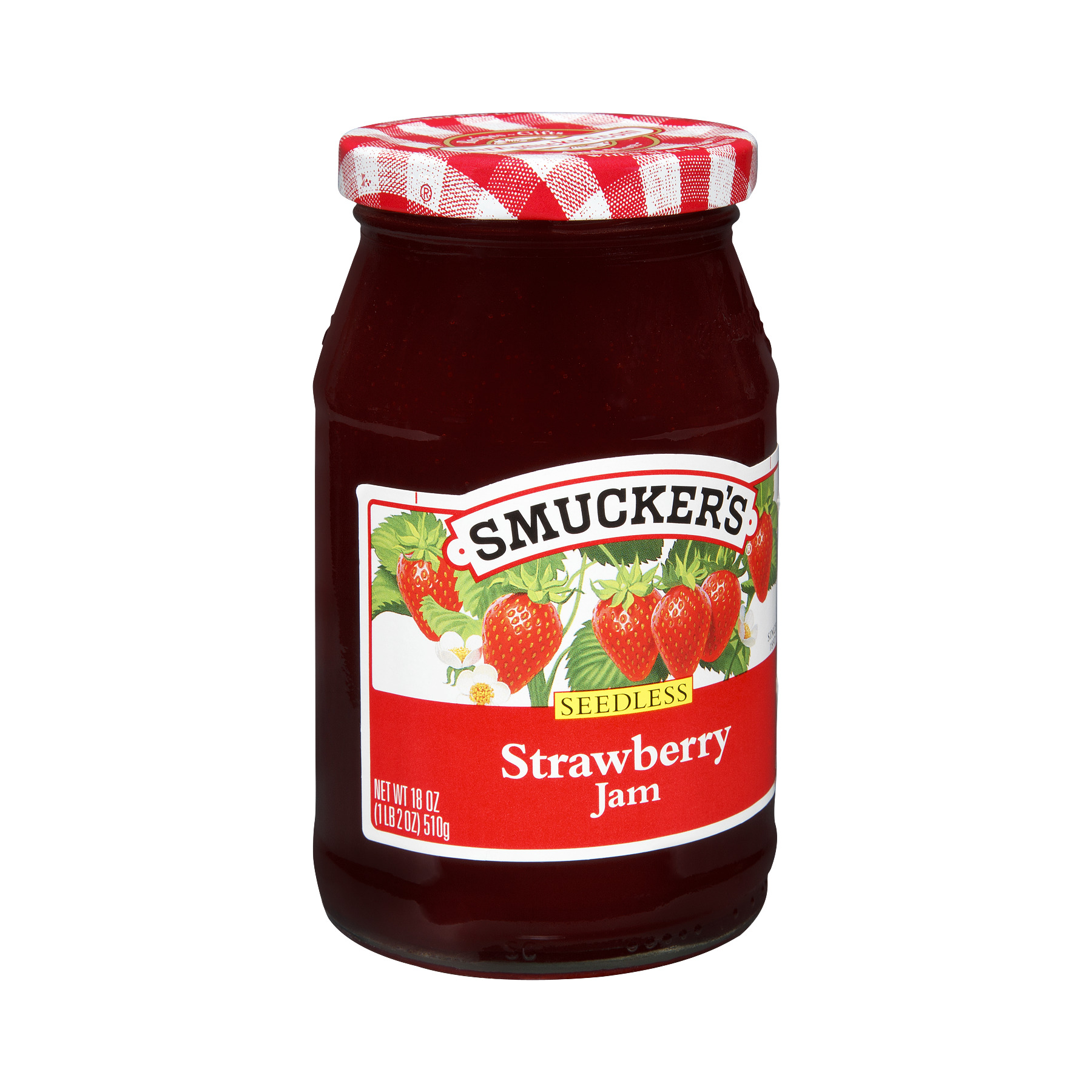 Smucker's Seedless Strawberry Jam, 18.0 OZ