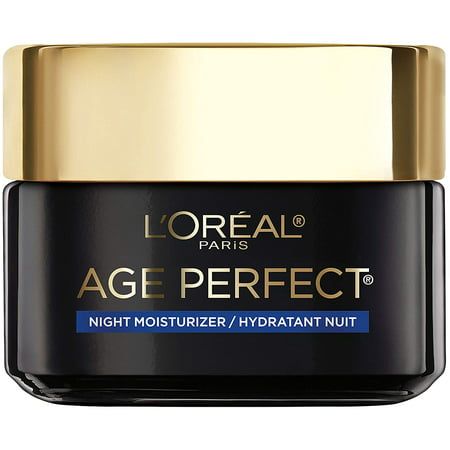 Skincare Age Perfect Cell Renewal Skin Renewing Night Cream, Face Moisturizer with Salicylic Acid to Stimulate Surface Cell Turnover, Radiant & Vibrant Skin, 1.7 oz, Packaging May Vary
