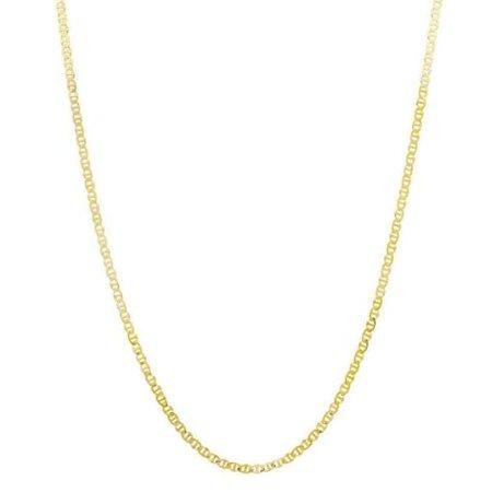 Pori  14k Goldplated Sterling Silver Italian Marina Chain Necklace