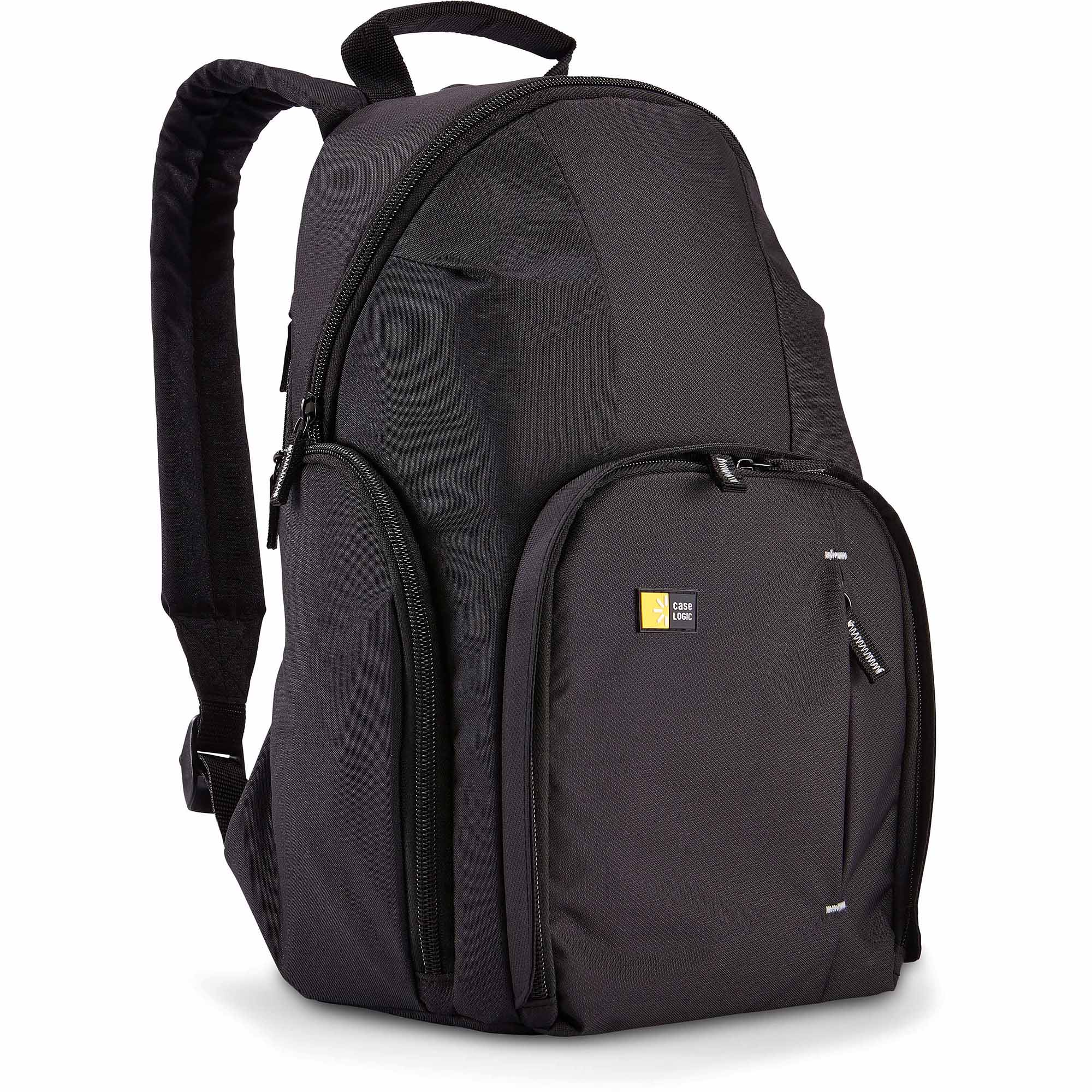 Case Logic TBC-411 DSLR Compact Camera and Apple iPad Backpack, Black