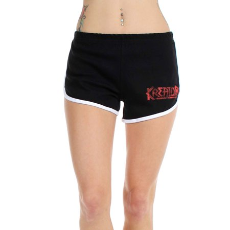 Kreator - Womens Black & Running Shorts