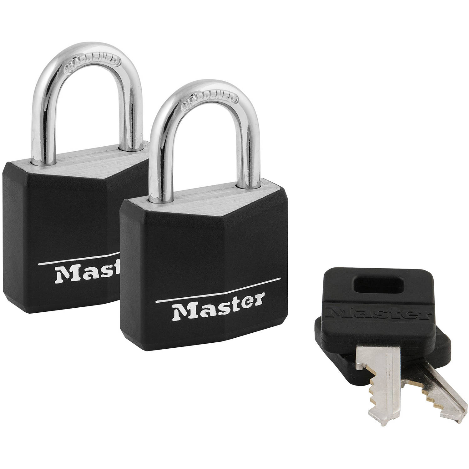 Master Lock 30mm Covered Padlocks, 2pk