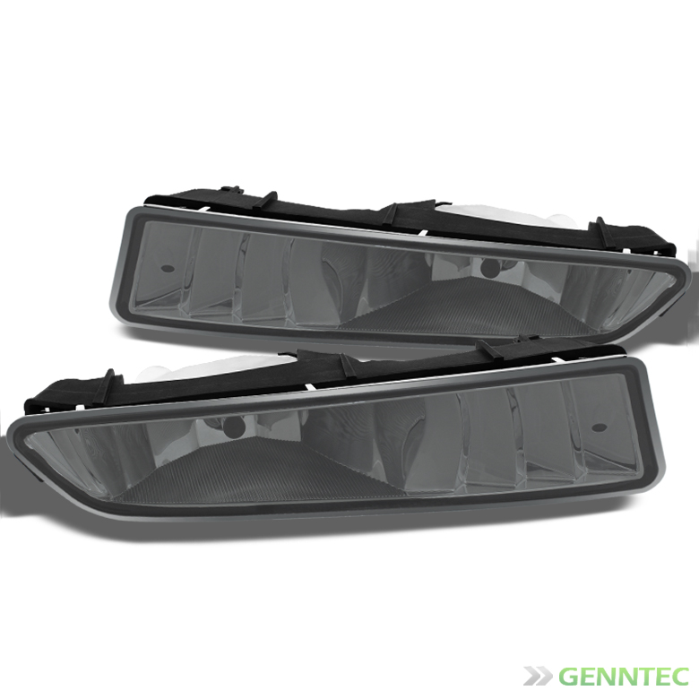 2002-2003 Acura TL Jdm Smoked Driving Fog Lights Replace Front Lamps Left+Right Pair Left+Right