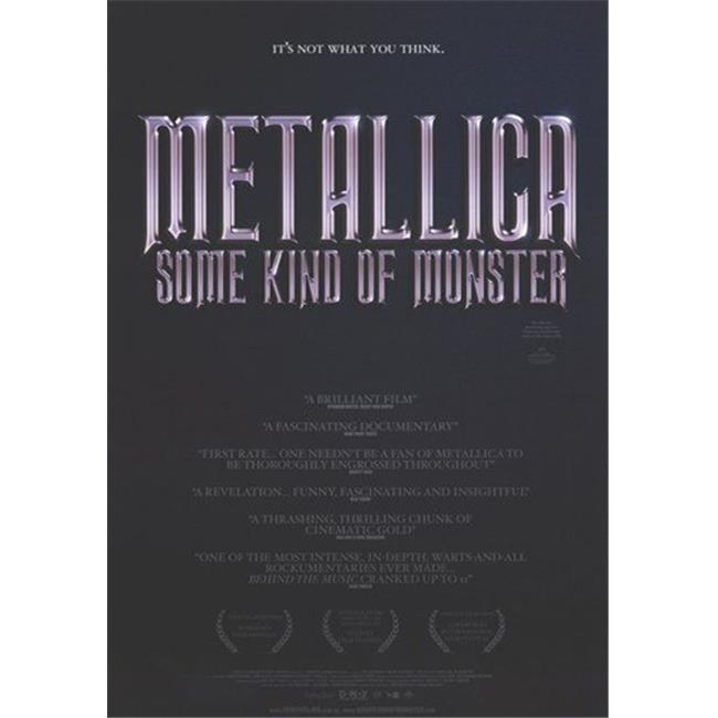 Posterazzi MOV277967 Metallica Some Kind of Monster Movie Poster - 11 x 17 in. - image 1 de 1