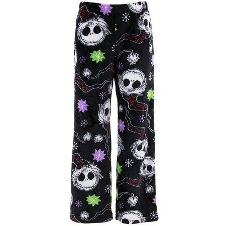 BRIEFLY STATED - Nightmare Before Christmas Women s Jack Skellington Fleece  Pajama Pants - Walmart.com 9a5ebff5f