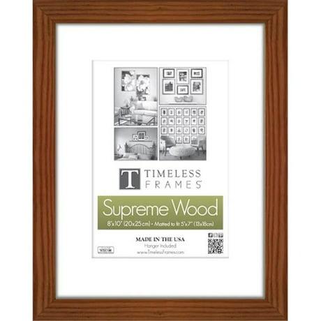 Timeless Frames 73260 Regal Portrait Walnut Wall Frame, 11 x 14 in.