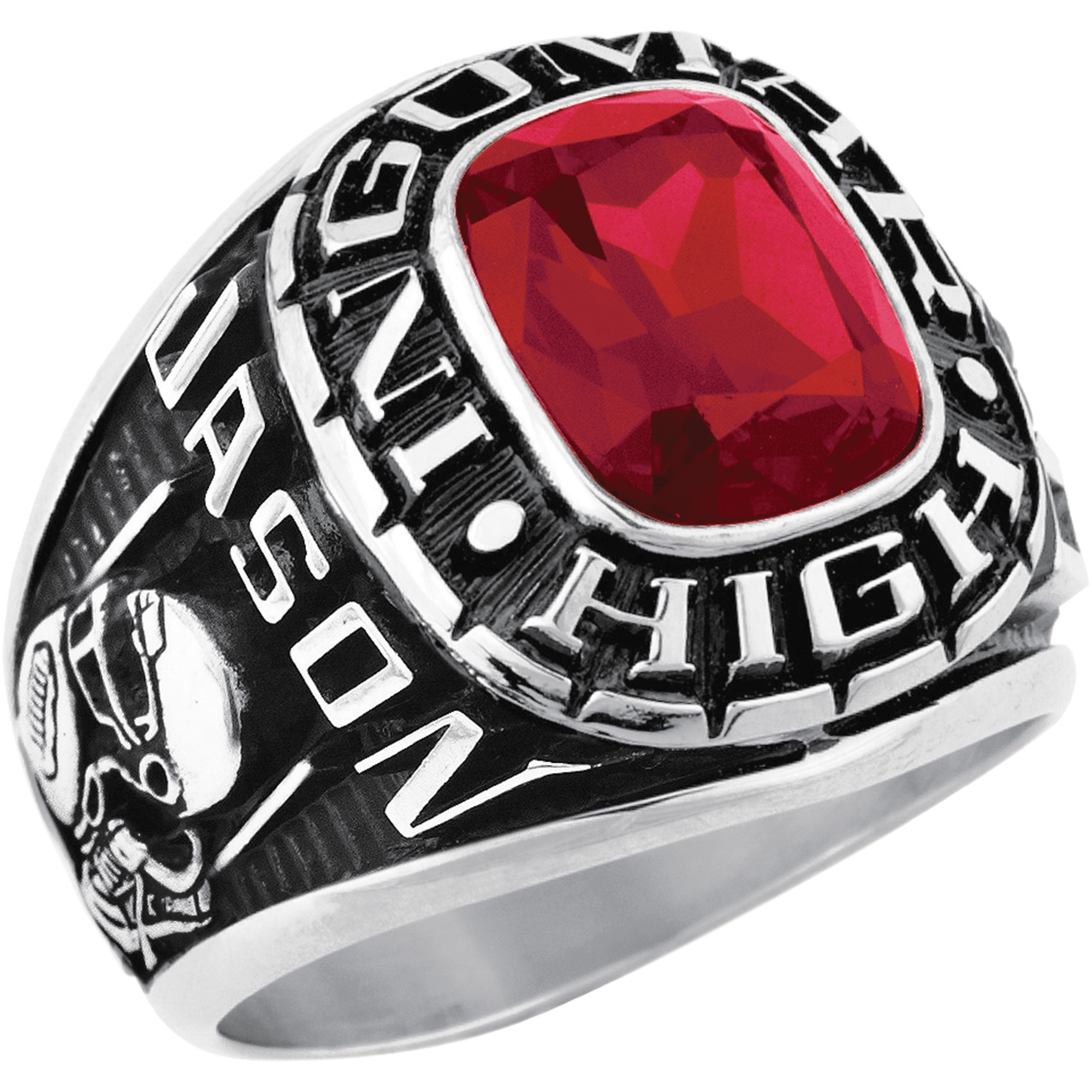Keepsake Men's Square Class Ring