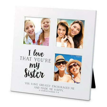 Frame-Collage-Sm-MDF-I Love That-Sister (#25724) - Walmart.com