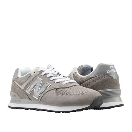 New Balance 574 Grey/Silver Men's Running Shoes ML574EGG