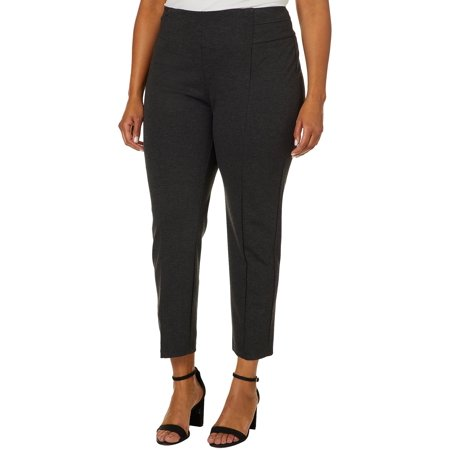 Zac & Rachel Women's Plus Size Compression Slim Leg Pant 1990s Womens Pants
