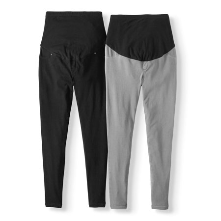 Time And Tru Maternity Jegging, 2 Pack by Time And Tru