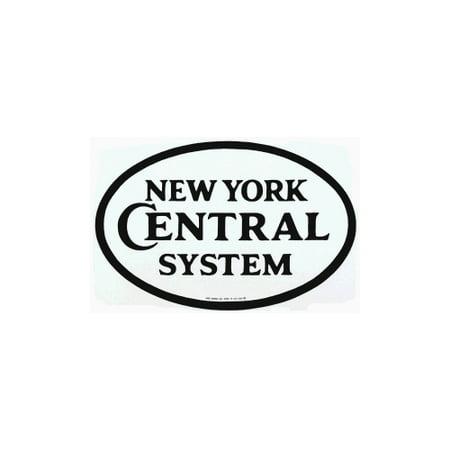 New York Central System Porcelain Refrigerator Magnet