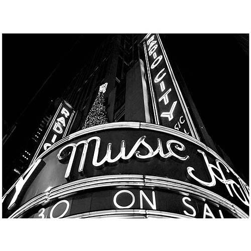 "Trademark Art ""Radio City"" Canvas Art by Yale Gurney"