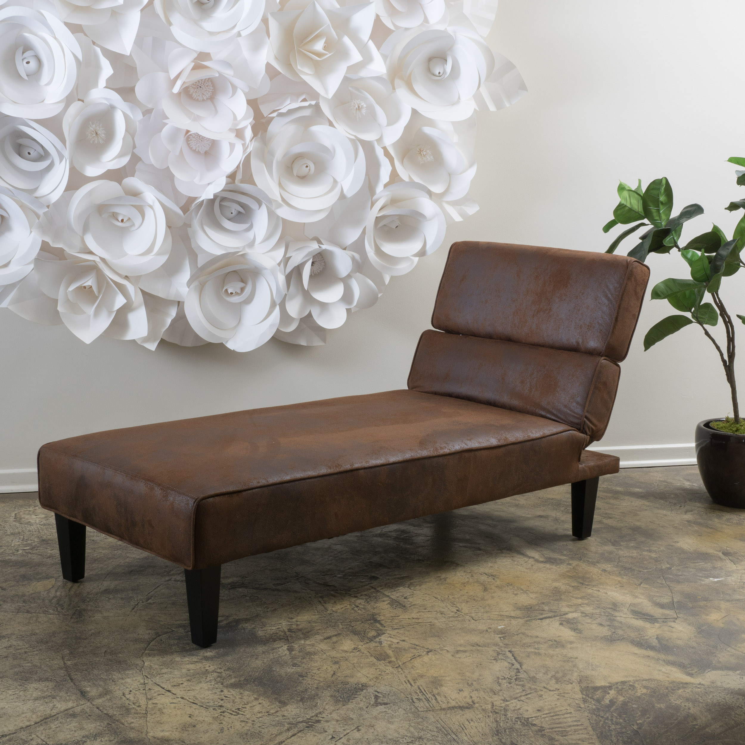 Franklin Brown Chaise