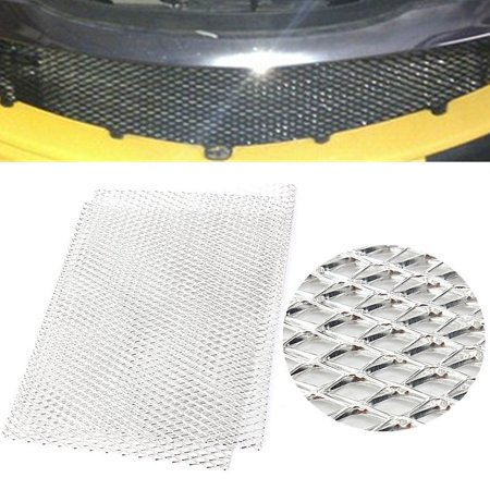 Car Body Protection - Aluminium Racing aluminium Grille Mesh Vent Car Tuning Body Grill Protection 100cm x 33cm
