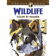 wildlife color by number - Color By Number Books
