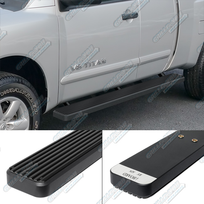 APS IBoard Running Board For Nissan Titan Extended Cab 2 Full + 2 Suicide  Doors