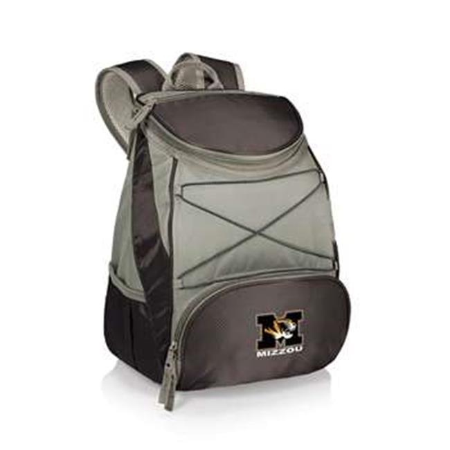 Picnic Time 633-00-175-394-0 University of Missouri Tigers-Mizzou Digital Print Backpack Cooler Tote Bag, Black - image 1 de 1