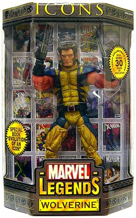 Marvel Icons 12 Inch Series 1 Wolverine Action Figure [Mask Down Variant] by