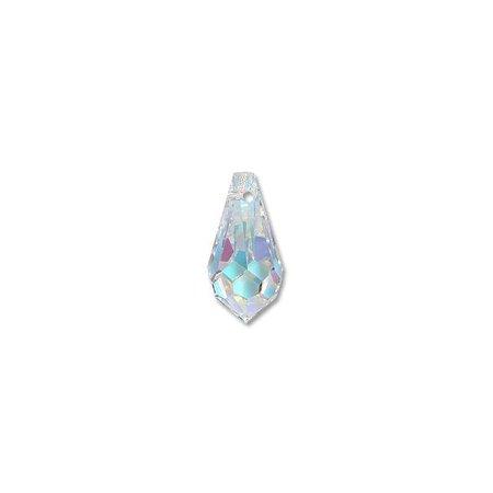 - Swarovski Crystal Drop Pendant 6000 11x5.5mm Crystal AB (Package of 1)