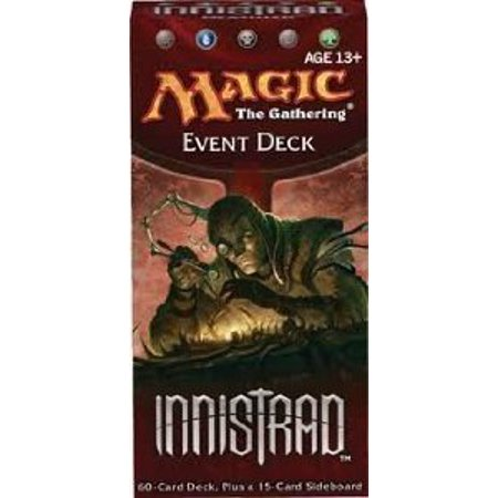 Innistrad, , Event Deck, 60 - Card Deck, Plus a 15-Card Sideboard, PRESALE - Innistrad Product begin shipping on September 30, 2011 By Magic the Gathering Ship from (Magic The Gathering Best Event Deck)