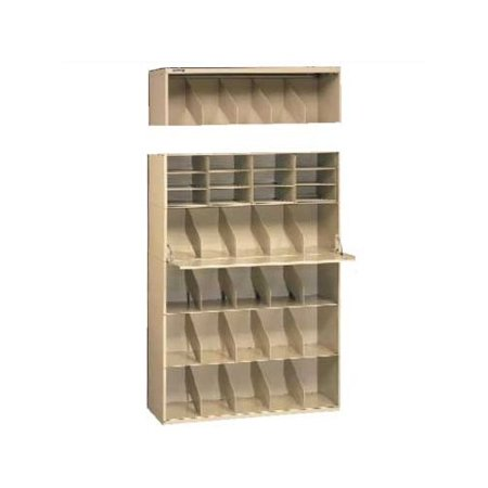 Tennsco Corp. Letter Size Stackable Filing System Open Filing Unit