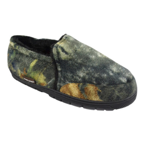 Men's MUK LUKS Camouflage Closed Back Slipper