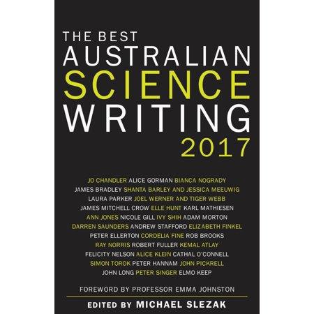 Halloween 2017 Date Australia (The Best Australian Science Writing)