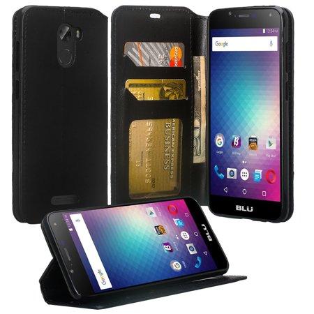 Coolpad REVVL Plus Case (T-Mobile), REVVL Plus Wallet Case, SOGA [Pocketbook Series] PU Leather Magnetic Flip Design Wallet Case for Coolpad REVVL Plus - Luxury