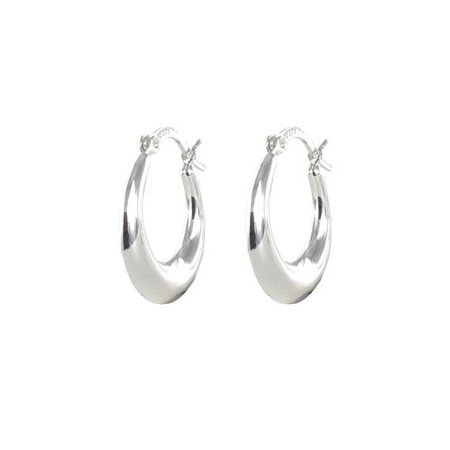 Sterling Silver Small Hoop Earrings ()